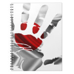 JAPAN NICE HAND FLAG PRODUCTS SPIRAL NOTE BOOKS