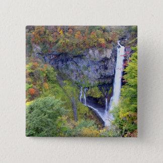 Japan, Nikko. Kegon waterfall of Nikko, a UNESCO Button