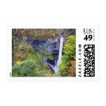 Japan, Nikko. Kegon waterfall of Nikko, a UNESCO Postage