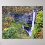 Japan, Nikko. Kegon waterfall of Nikko, a UNESCO Print