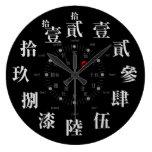 kanji clock symbol sign phonetic characters japanese callygraphy zangyoninja aokimono