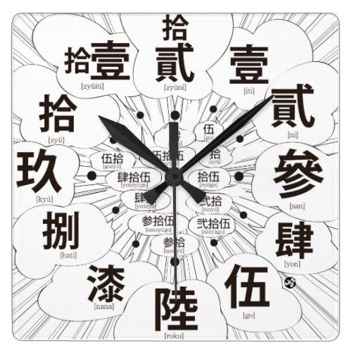 kanji, comic, manga, sign, phonetic, simple, modern, chinese, characters, japanese, callygraphy, 書, 漢字, 白, 黒, 時計, モノクロ