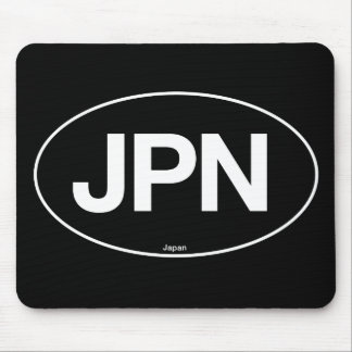 Japan Oval Mouse Pad