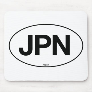 Japan Oval Mouse Pads