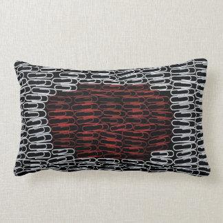Japan Paperclips Lumbar Pillow