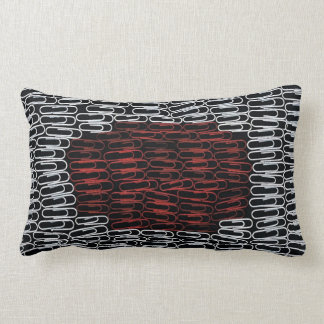 Japan Paperclips Pillow