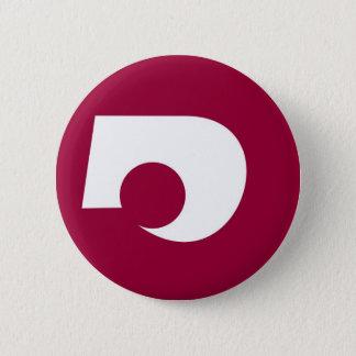 japan prefecture region flag district kumamoto pinback button