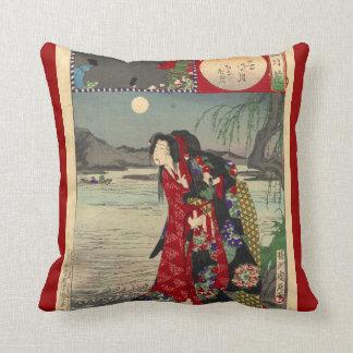 Japan - Princess Tsuki - Throw Pillow