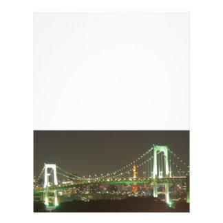 Japan Rainbow Bridge Letterhead