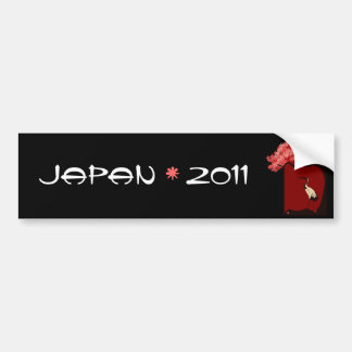Japan Relief Bumper Sticker Car Bumper Sticker
