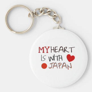 Japan Relief Key Chain