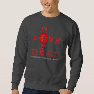 Japan Relief - Love Hope Heal Sweatshirt