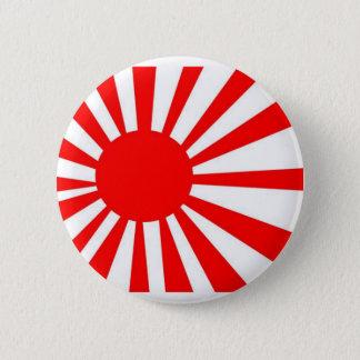 Japan Rising Sun Flag Pinback Button