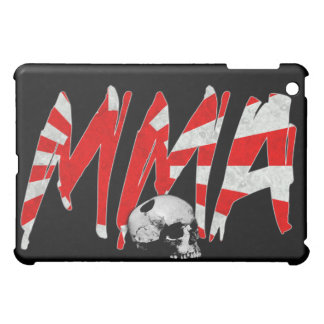 Japan Rising Sun MMA Skull Black iPad Case