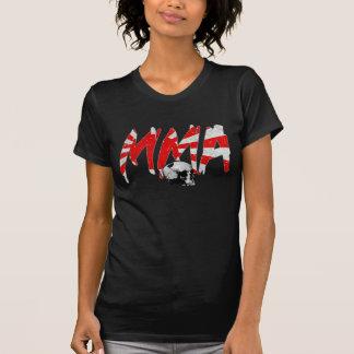 Japan Rising Sun MMA Skull Ladies T-shirt