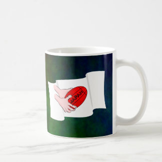 Japan Rugby Team Supporters Flag With Ball Coffee Mug