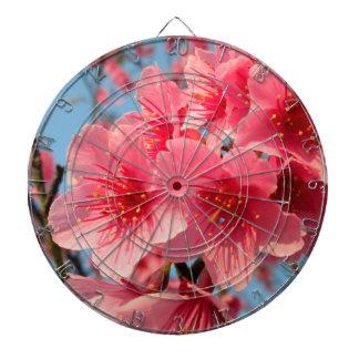 Japan Sakura Flower Dartboard With Darts