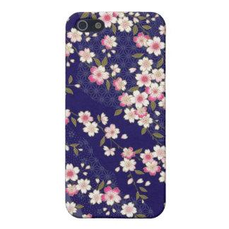 Japan, Sakura, Kimono, Origami, Chiyogami, Flower, Case For iPhone SE/5/5s