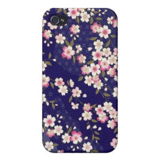 Japan, Sakura, Kimono, Origami, Chiyogami, Flower, iPhone 4 Case