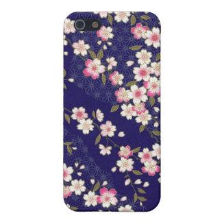 Japan, Sakura, Kimono, Origami, Chiyogami, Flower, iPhone SE/5/5s Cover