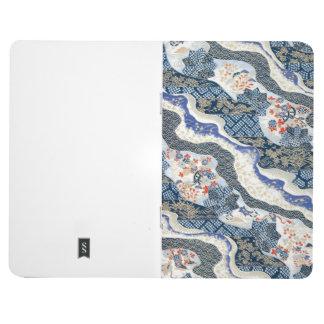Japan, Sakura, Kimono, Origami, Chiyogami, Flower, Journal