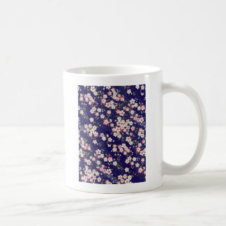Japan, Sakura, Kimono, Origami, Chiyogami, Flower, Classic White Coffee Mug