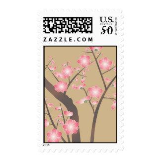 Japan, Sakura, Kimono, Origami, Chiyogami, Flower, Postage