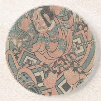 Japan: Samurai Drink Coasters
