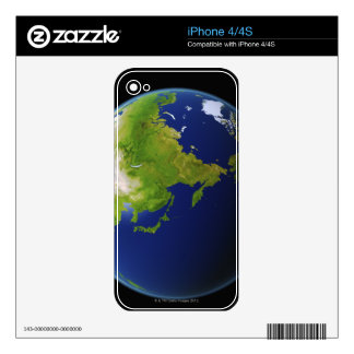 Japan Seen from Space iPhone 4S Decals