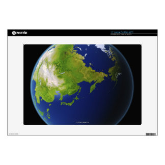 Japan Seen from Space Laptop Skins