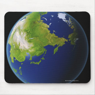 Japan Seen from Space Mouse Pad