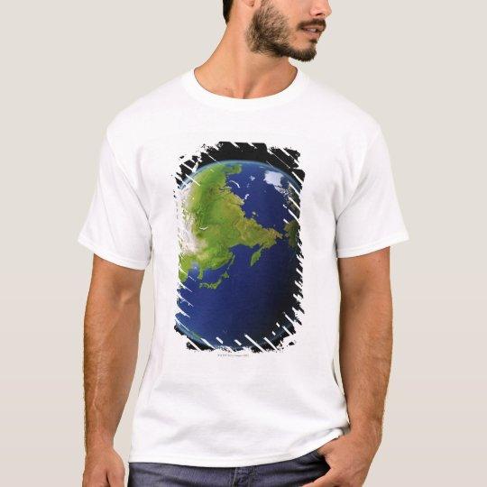 Japan Seen from Space T-Shirt