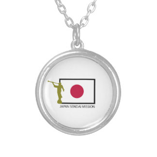 JAPAN SENDAI MISSION LDS CTR SILVER PLATED NECKLACE