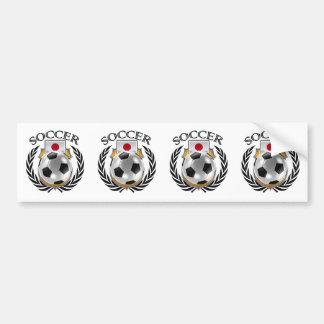 Japan Soccer 2016 Fan Gear Bumper Sticker