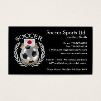Japan Soccer 2016 Fan Gear Business Card