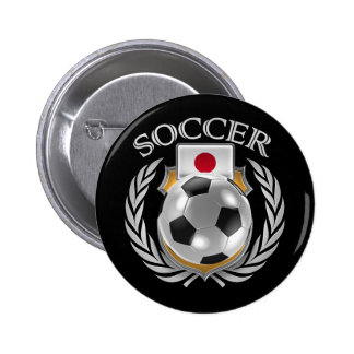 Japan Soccer 2016 Fan Gear Pinback Button