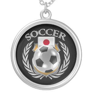 Japan Soccer 2016 Fan Gear Silver Plated Necklace