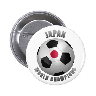 JAPAN SOCCER CHAMPIONS BUTTON