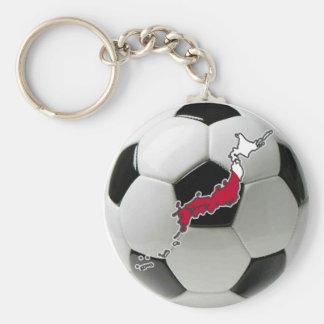 Japan soccer keychain