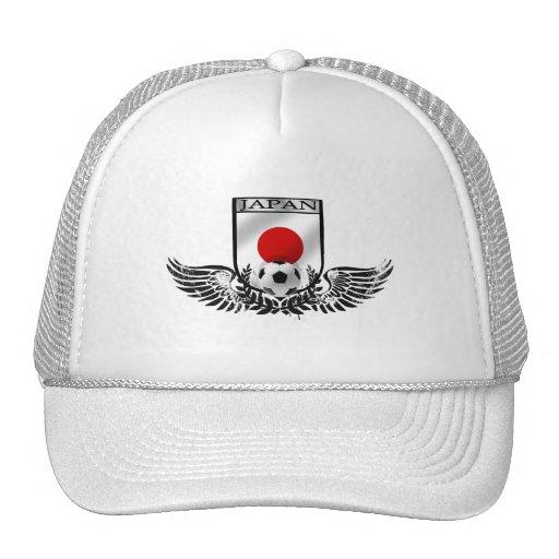Japan Soccer Winged Emblem Shield Trucker Hat