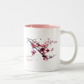 japan Springs Eternal Two-Tone Coffee Mug