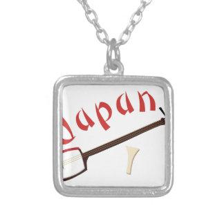 Japan Square Pendant Necklace