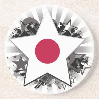 Japan Star Drink Coasters
