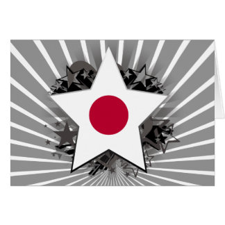Japan Star Greeting Cards