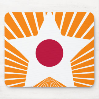 Japan Star Mouse Pad