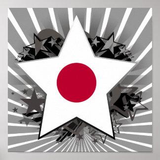 Japan Star Poster