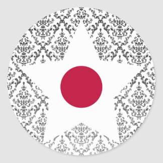 Japan Star Sticker