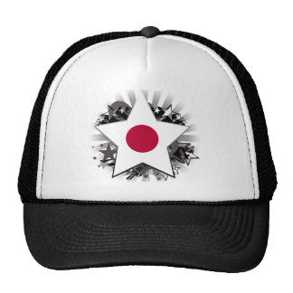 Japan Star Trucker Hats