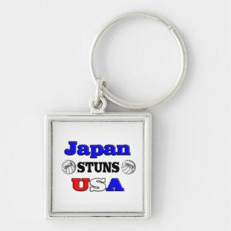 Japan Stuns USA 2011 Keychain