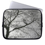 Japan, Tokyo. Cherry blossoms in the Imperial Laptop Sleeve